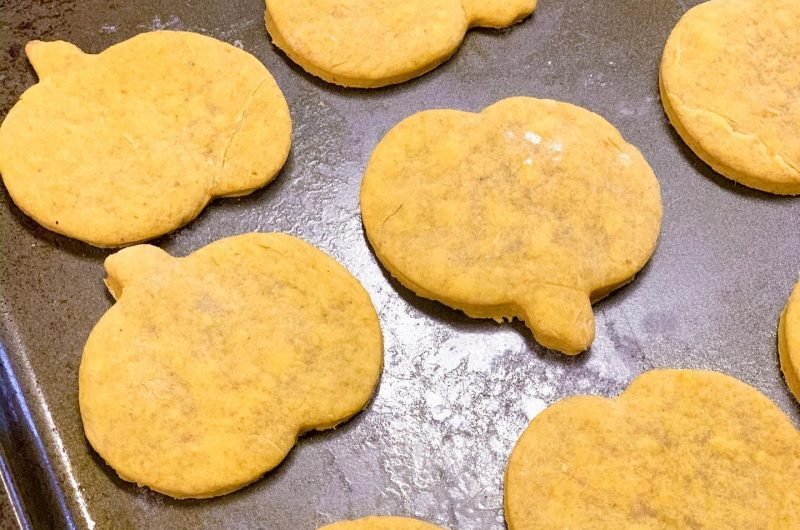 Charlotte's Favorite Pumpkin Roll-Out Cookies